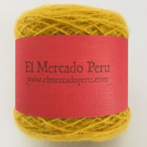 Nazca Baby Alpaca Yarn Yellow Leaf