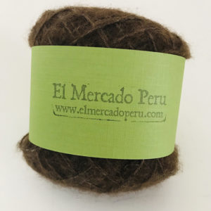 Nazca Baby Alpaca Yarn Heather Brown